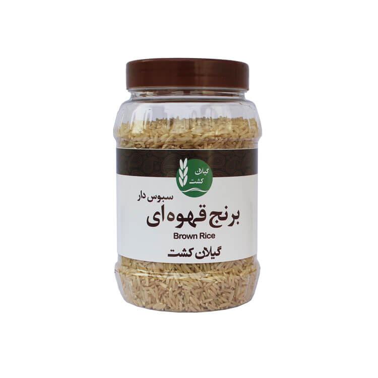 برنج قهوه ای ۵۰۰ گرم