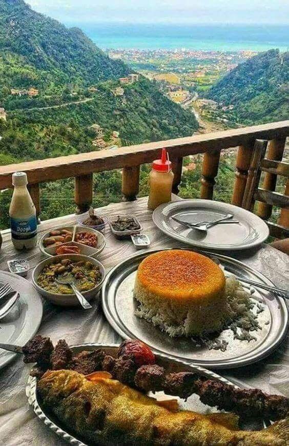 خوراکی های محلی استان گیلان