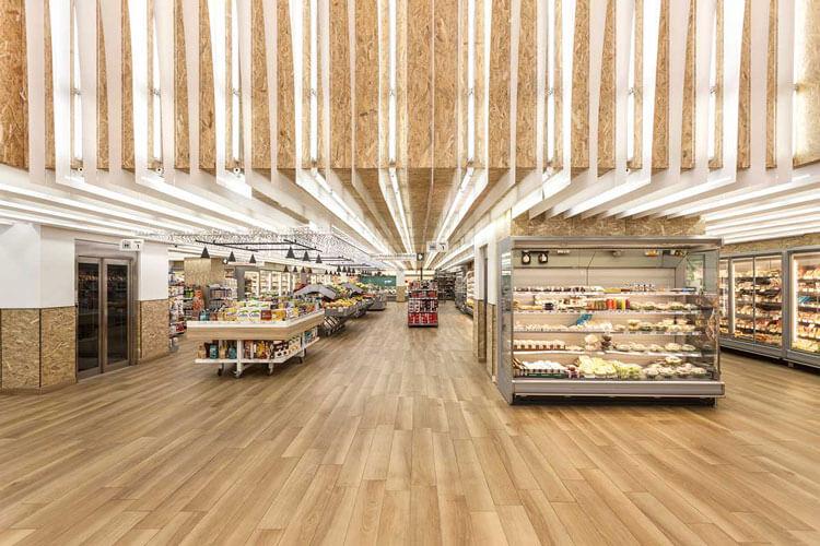 طراحی ویترین فروشگاه برنج