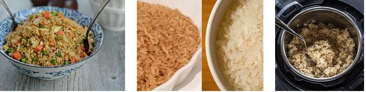 لاغری با برنج قهوه ای