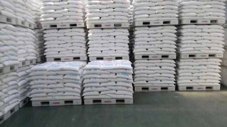 کاربرد پالت در انبارداری و فروشگاه برنج