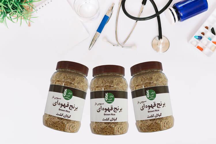 سلامت قلب با برنج قهوه ای