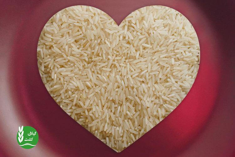 سلامت قلب و برنج قهوه ای