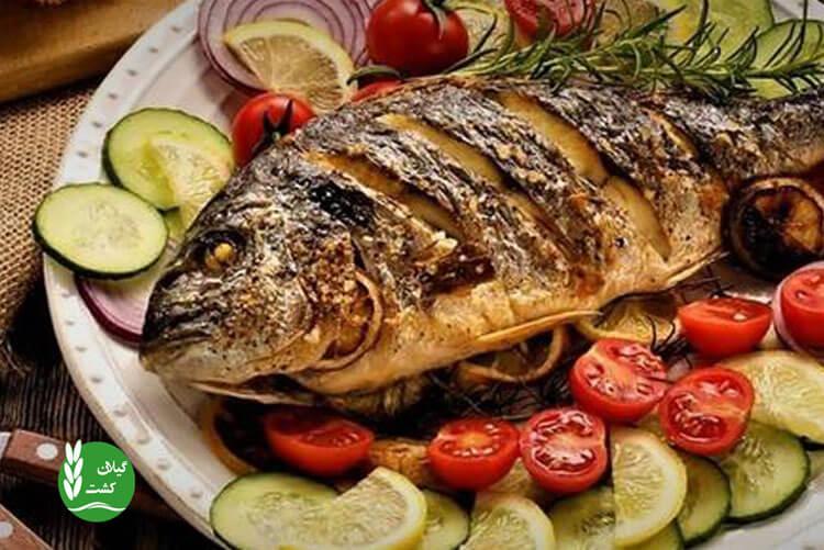 مصرف ماهی در بدنسازی
